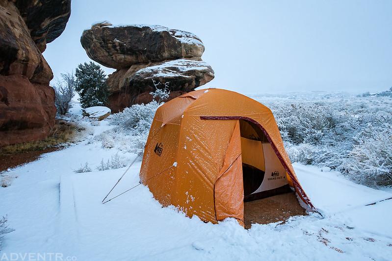 Squaw Flat Snow
