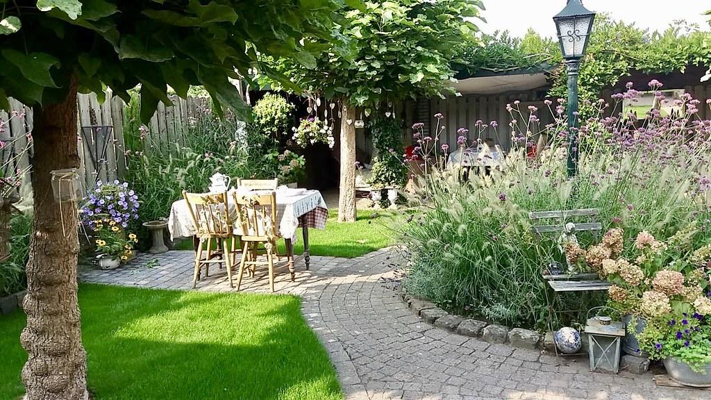 Landelijke tuin