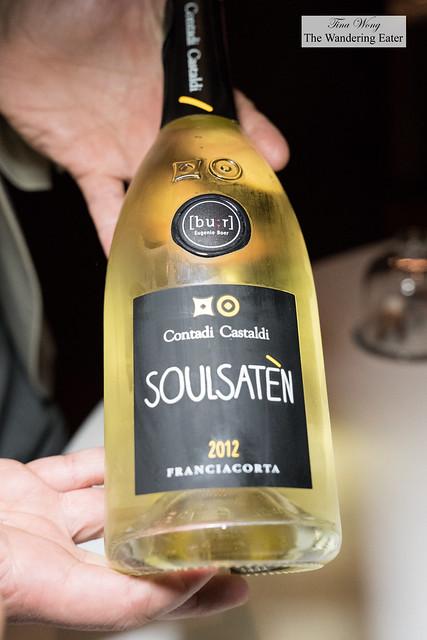 Contadi Castaldi x Bu:r Eugenio Boer 'Soulsaten' Franciacorta 2012