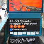 Image de Rockefeller Center. subway new york city station mta 47 street 50 rockefeller center