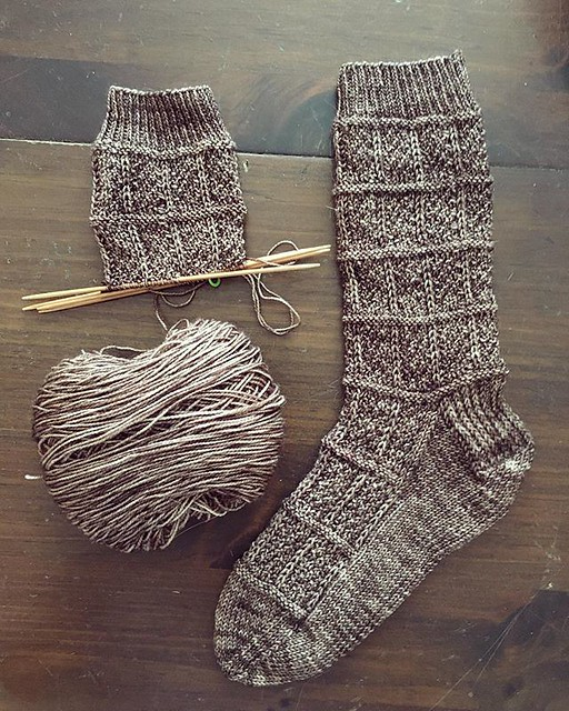 New socks... soon.  @fiberstash yarn. #knitting #sockknitting