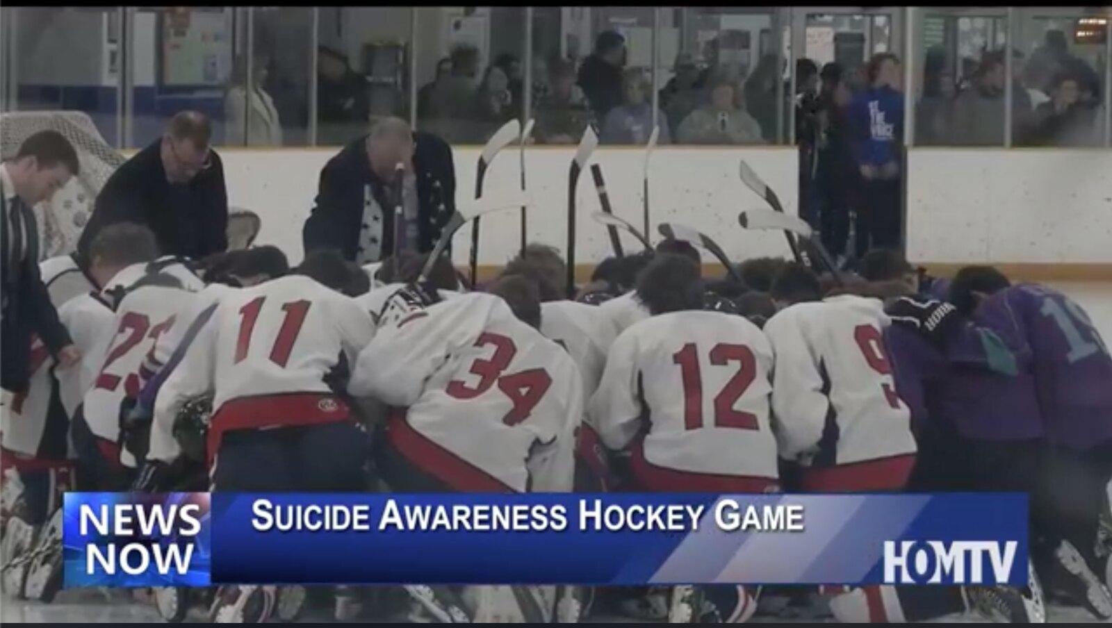 Local Hockey Team Raises Awareness for Suicide Prevention