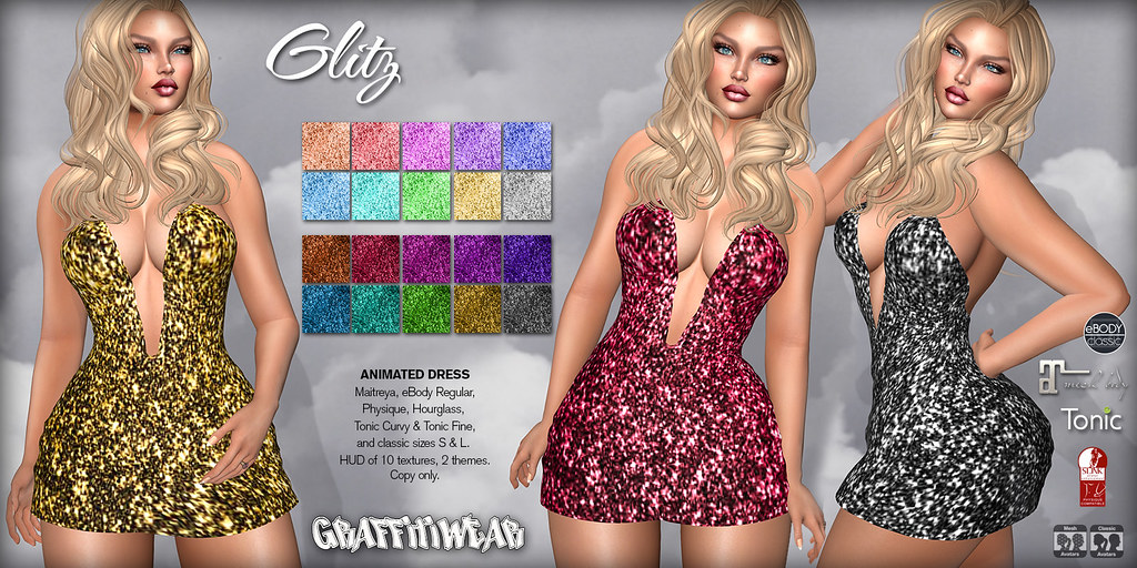 Glitz Dress Ad - TeleportHub.com Live!
