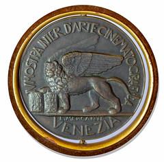 1936 Venice Film Festival Award Medal reverse