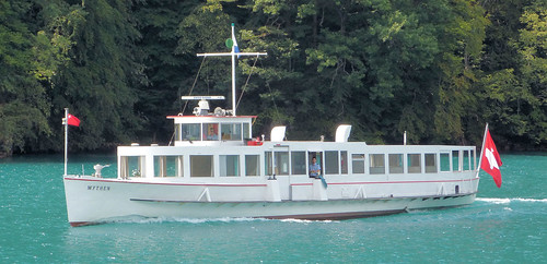 Lake Lucerne Navigation Company, Switzerland - MV Mythen built in 1931 with the 15.20 from Brunnen to Flüelen on the 11th July 2018