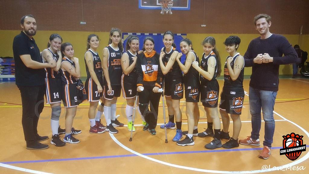 10/11/2018.- Junior Negro Femenino vs Juventud Alcalá
