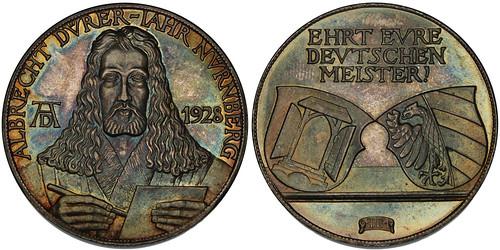 1928 Albrecht Durer Silver Medal