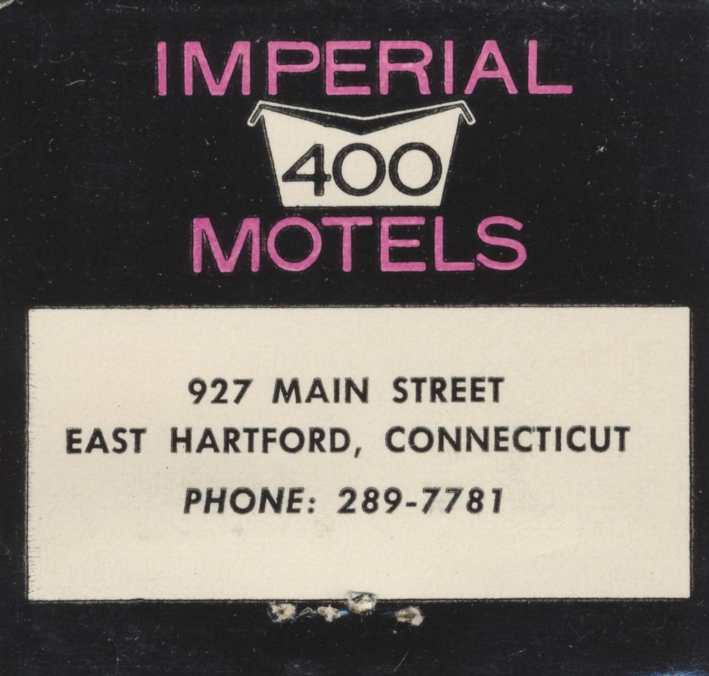 Imperial '400' Motel - East Hartford, Connecticut