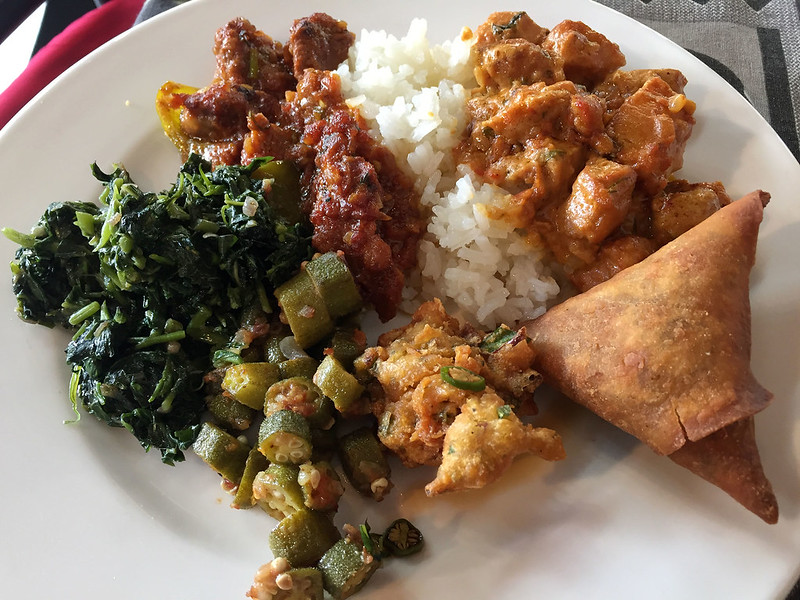 Lunch, Cultural Centre, Arusha