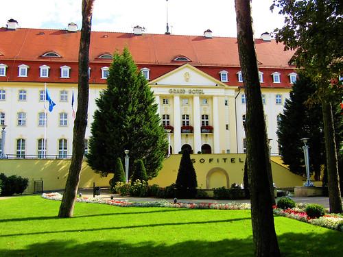 Sofitel Grand Hotel in Sopot