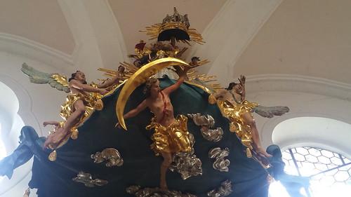 20170928 01 634 ostbay Kirche Schiffkanzel Statuen Engel Maria Dreifaltigkeit