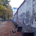 The Berlin wall at Invalidenfriedhof, Mitte