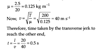 NCERT Solutions for Class 11 Physics Chapter 15 Waves