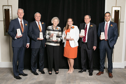 The 2018 UT PGE class of Distinguished Alumni and Rising Stars