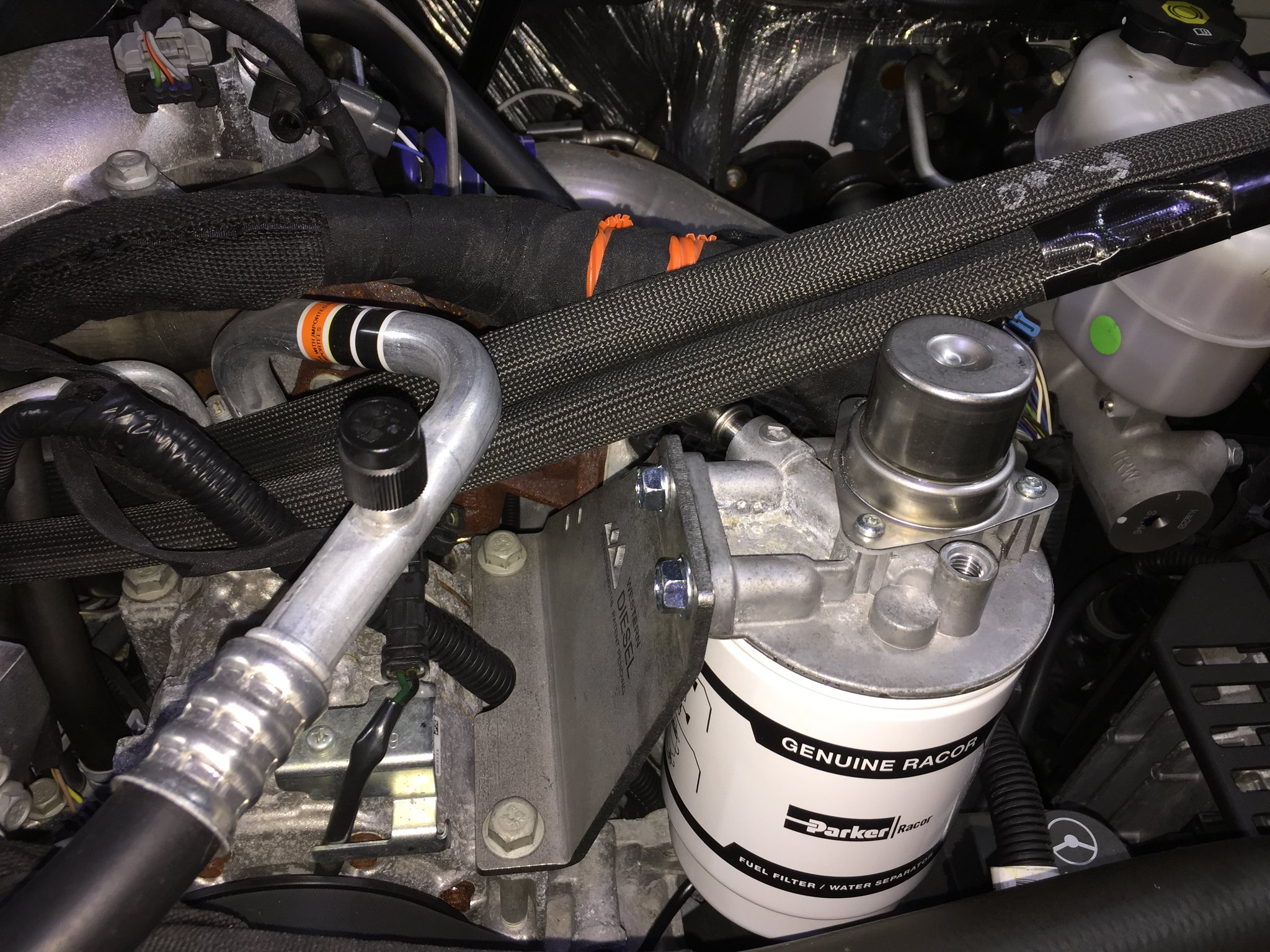 Fuel Filter Relocation - FINALLY - Chevy and GMC Duramax