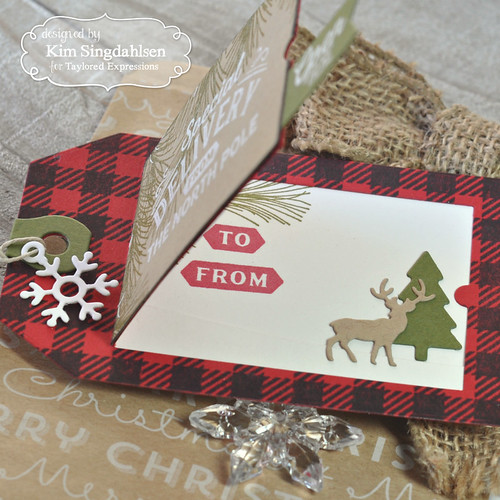 Taylored Expressions Buffalo Plaid Tags