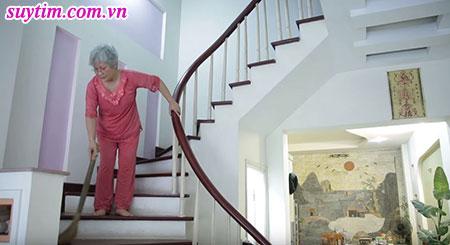 Sức khỏe hồi phục bà Loan có thể đi đây đi đó, làm những công việc lặt vặt trong nhà