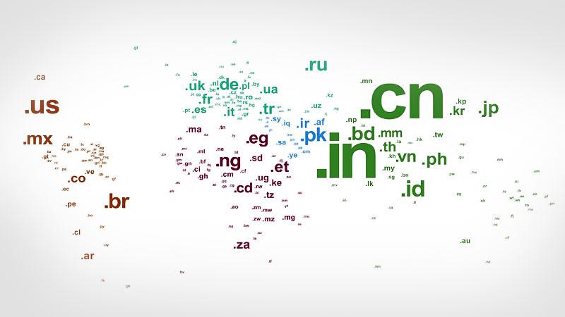Daftar Lengkap Domain Internet Level Teratas Kode Negara di Dunia