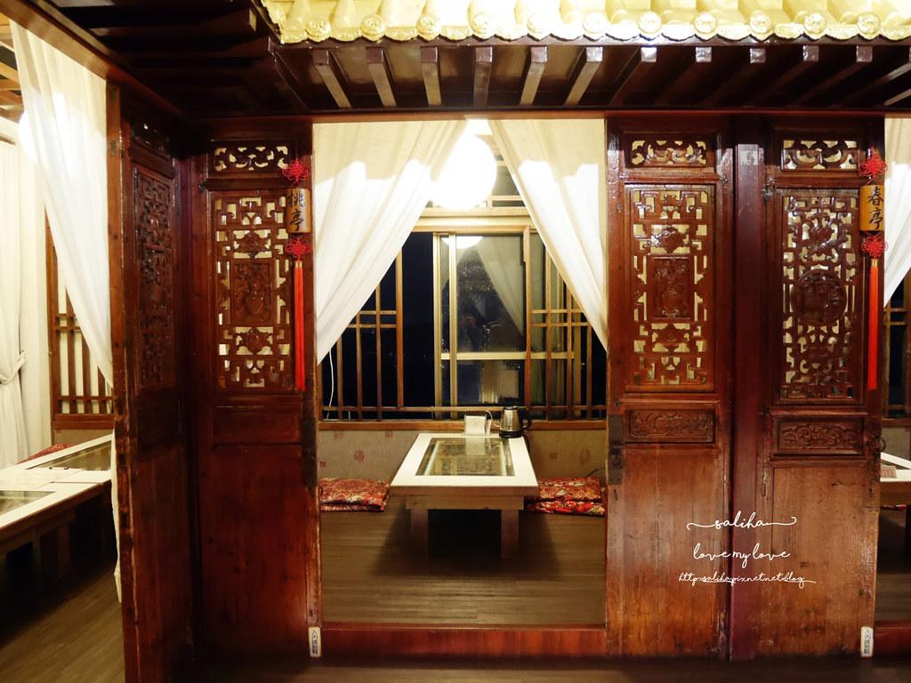 台北夜景景觀餐廳推薦貓空四爺SIHYE氣氛好浪漫聚餐茶香料理合菜 (8)