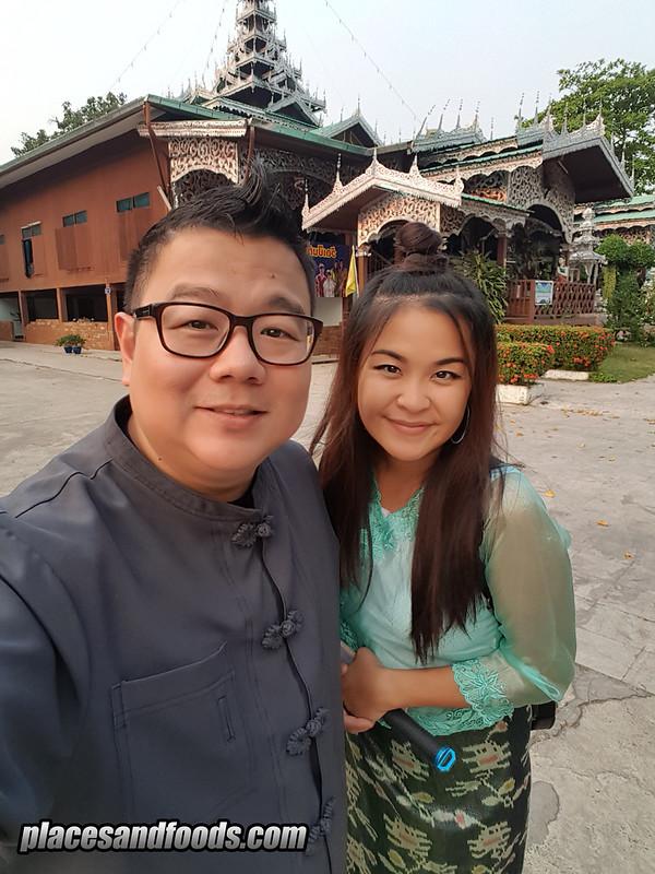 wat jong kham temple mae hong son wilson