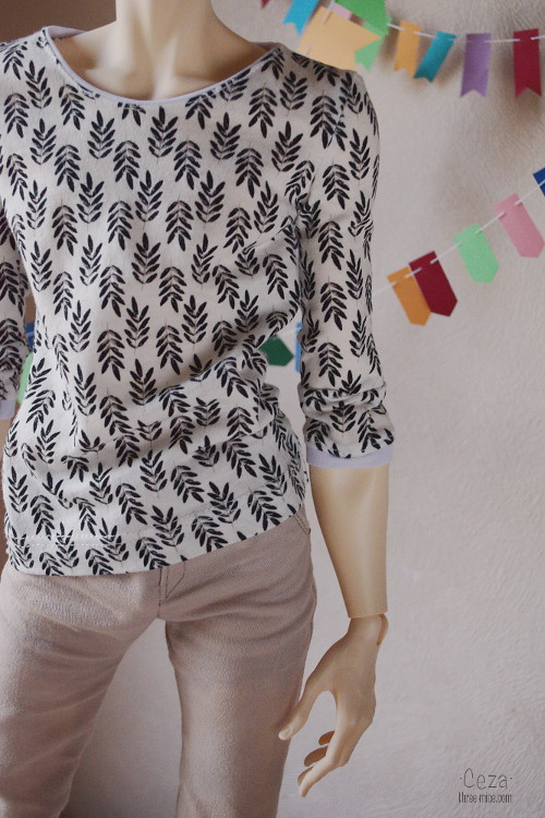 Longsleeve for 5th motif body, 18 years Dollstown and for others 70cm BJD men