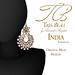 Tres Beau India Earrings AD
