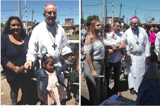 JMP 2018: bautismos en Fiorito