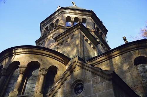 Die schöne Votivkirche und  zugleich Denkmal für König Ludwig II. von Bayern am Starnberger See