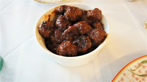 Appetizer: Meatballs