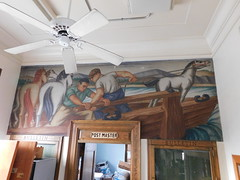 Williamsburg Kentucky Post Office Mural