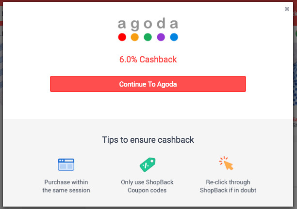 Enjoy Cashback with Your Agoda Bookings with ShopBack