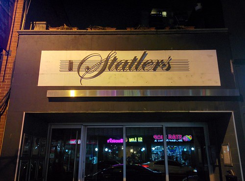 The former Statler's #toronto #churchandwellesley #churchstreet #statlers #nightclubbing #closed