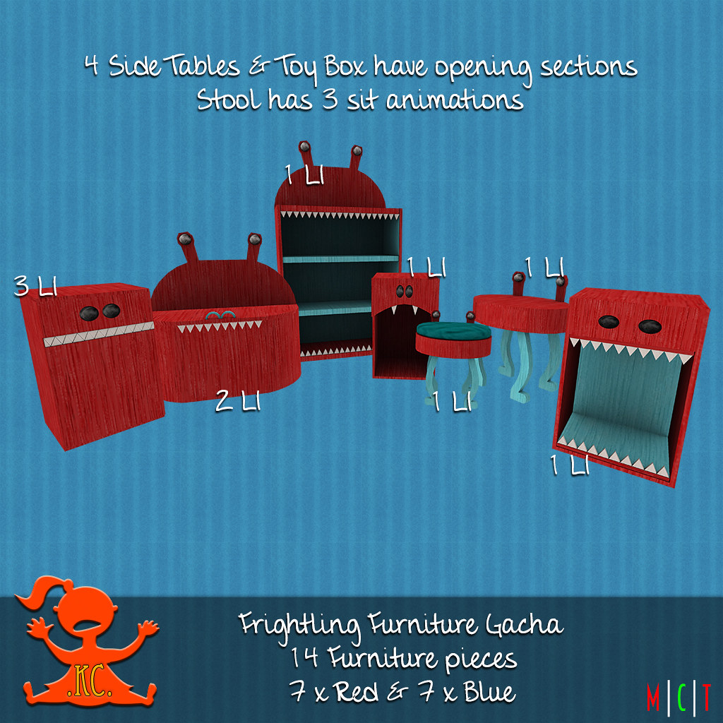 KC Frightling Furniture Gacha - TeleportHub.com Live!
