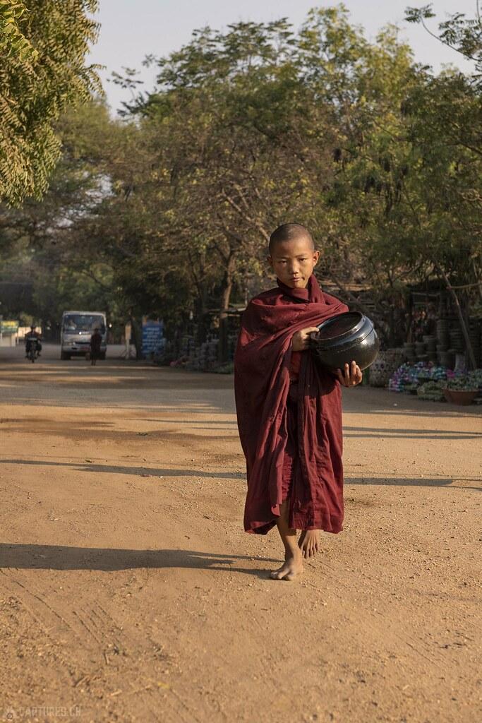 Young monk - Bagan