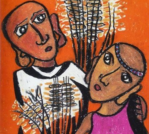 Ruth en Boaz_Karin Kraus