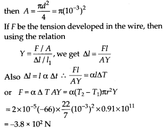 NCERT Solutions for Class 11 Physics Chapter 11Thermal Properties of matter 7