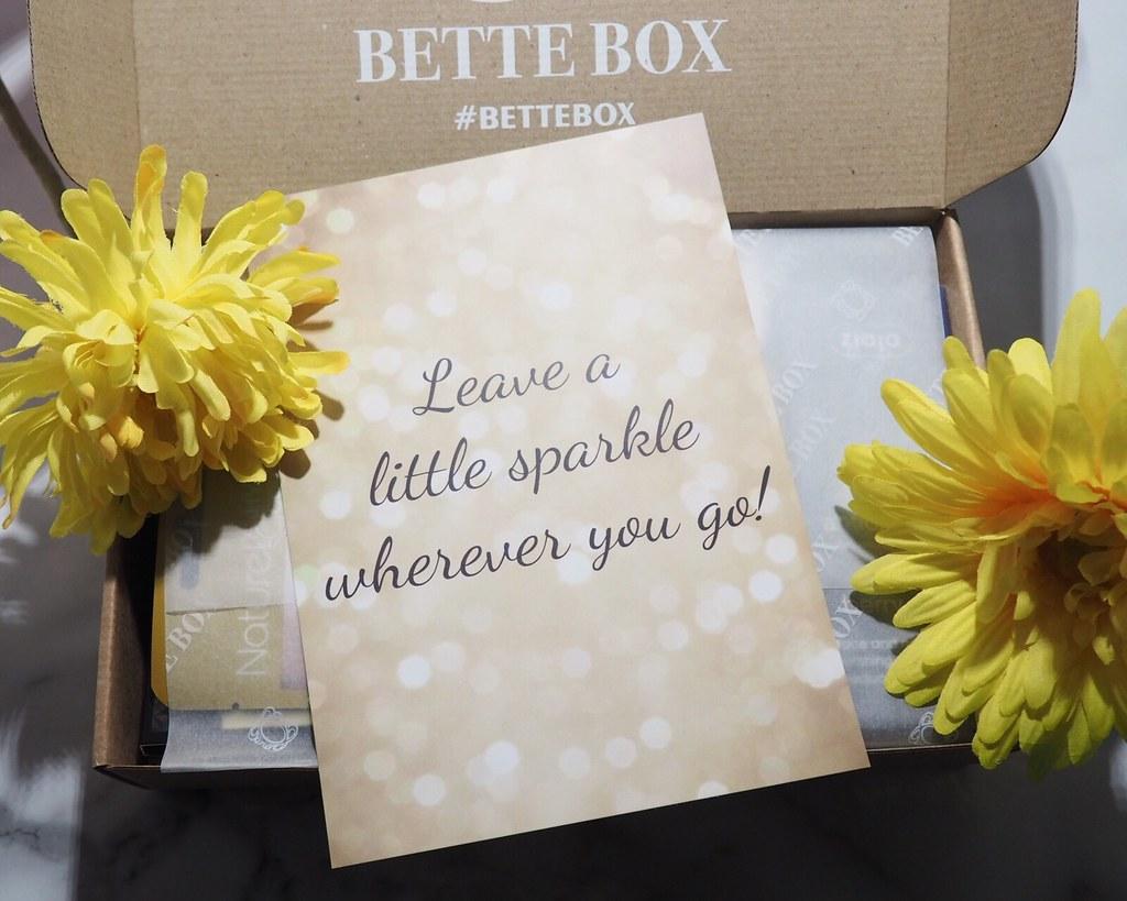 Bette Box Marraskuu