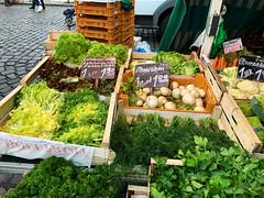 Fischmarkt Gemüse