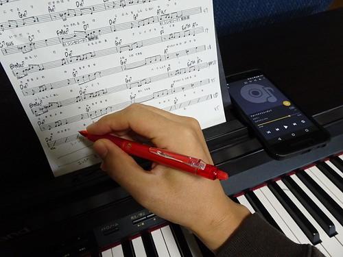 ボーカルの練習