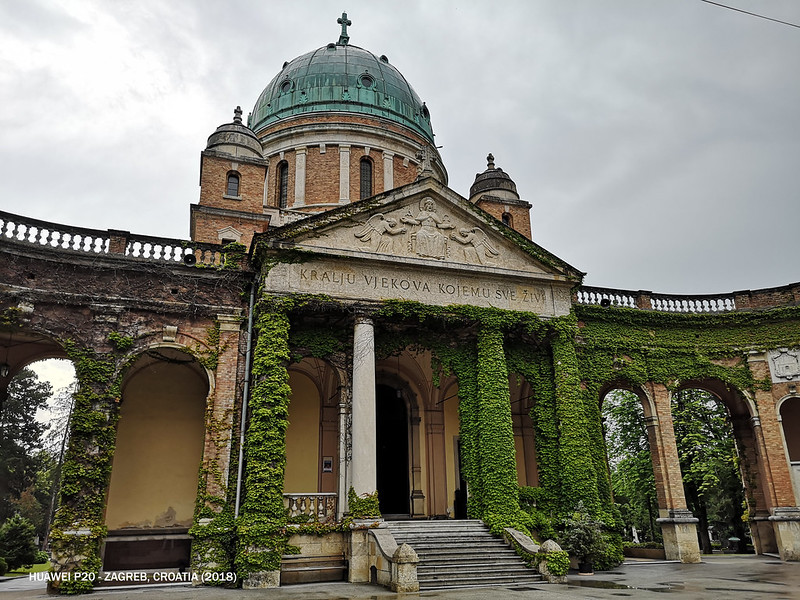 2018 Croatia Zagreb Mirogoj Cemetery