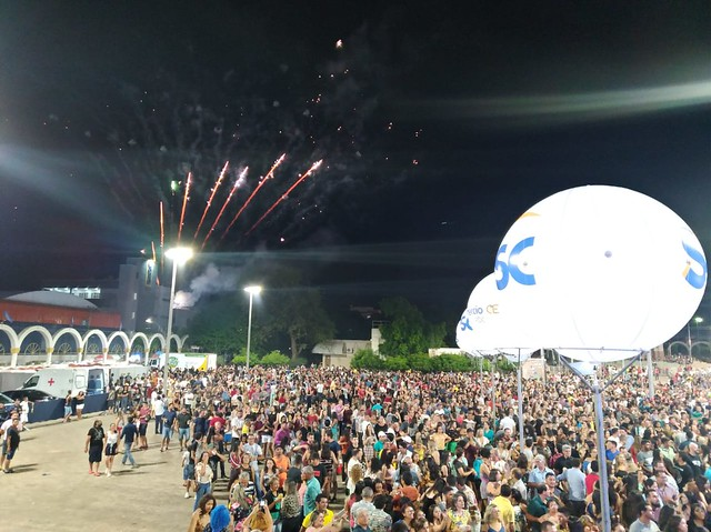 Grande Encontro leva multidão para a abertura da 20ª Mostra Sesc Cariri de Culturas