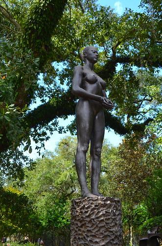 Sculpture - Source Figure (1991) by Robert Graham