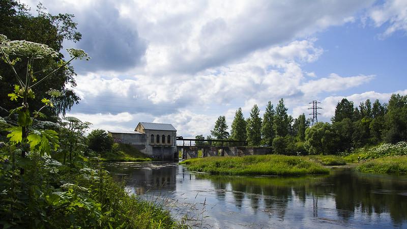 Горбовская ГЭС.