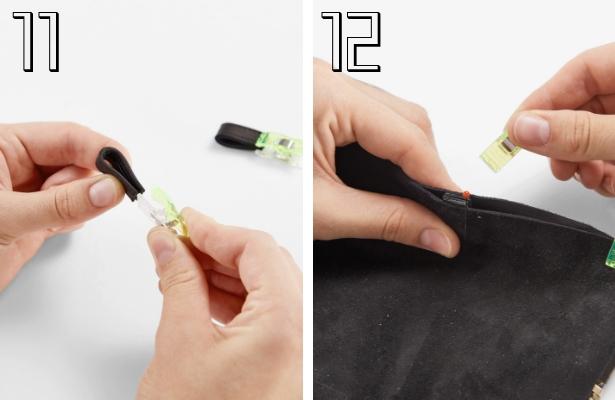 DIY Fashion Clutch Steps  11 12
