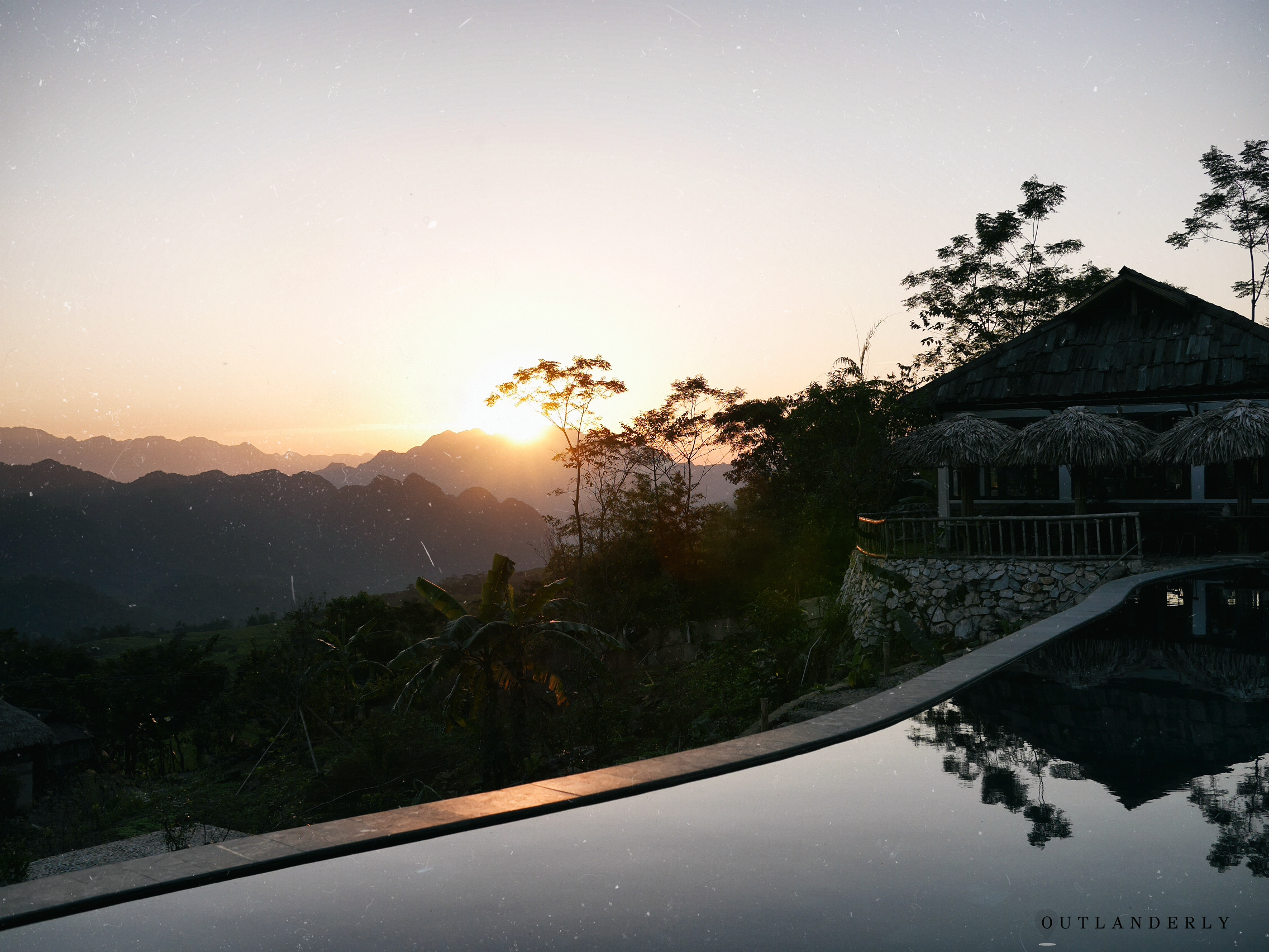 SUNRISE AT PU LUNG ECO RETREAT