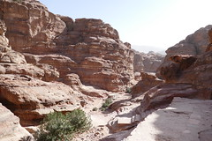 Climbing Down from the Monastery at Petra (19)