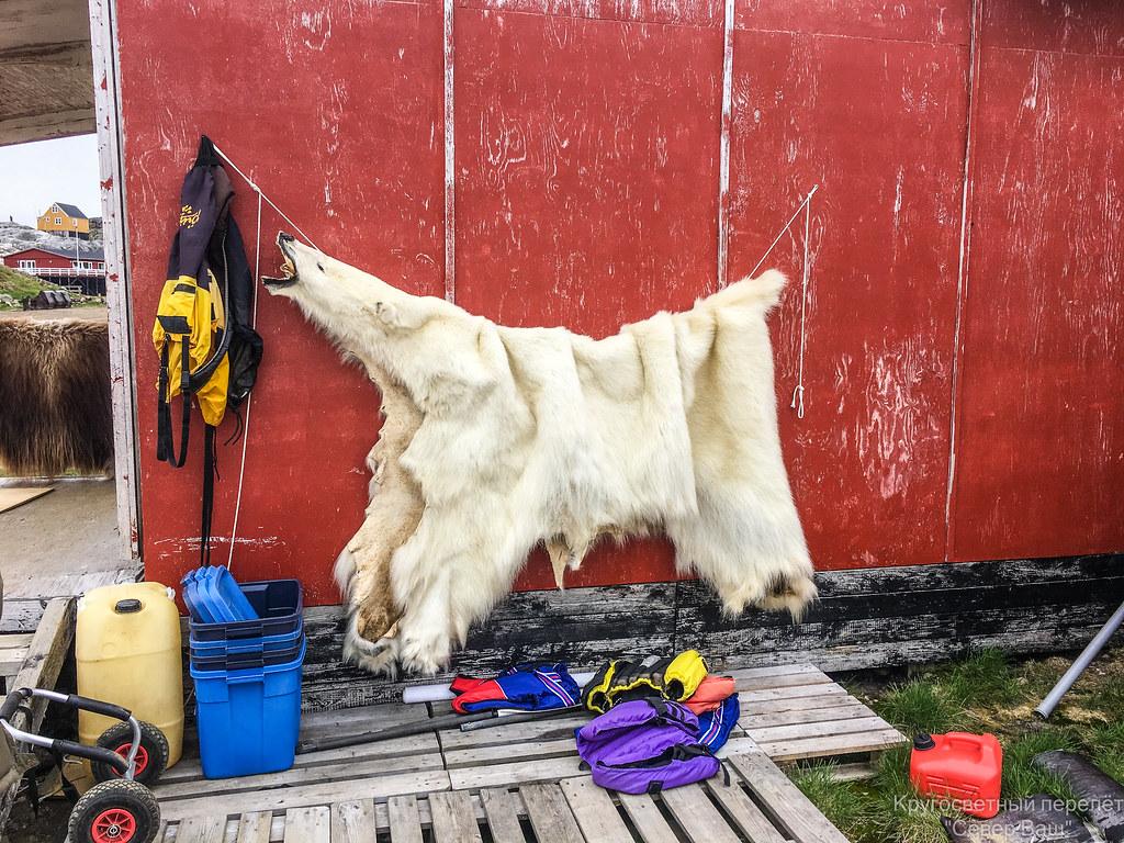август 2018 - Гренландия, Кулусук