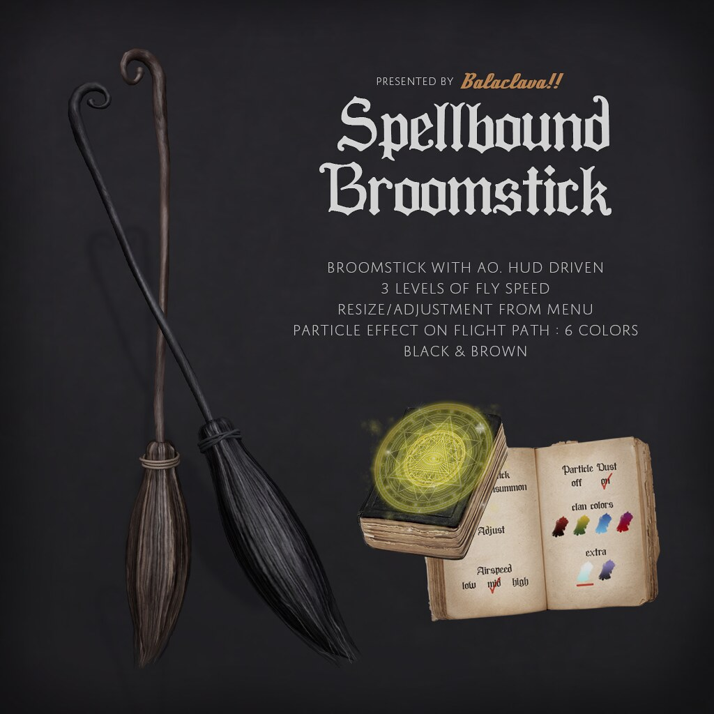 BALACLAVA!! Spellbound Broomstick AD 1024 - TeleportHub.com Live!