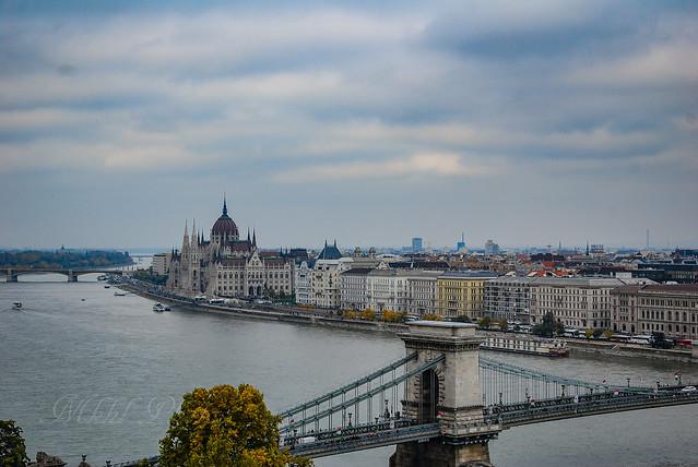 View from Buda Castle., Nikon D40X, AF-S DX VR Zoom-Nikkor 18-105mm f/3.5-5.6G ED