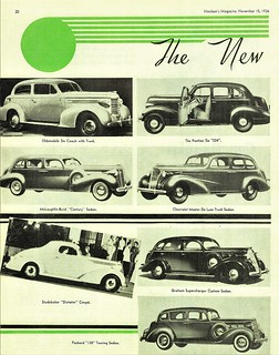 New Cars for 1937 (Canada) Pg. 1